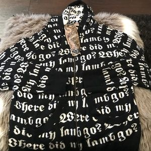 L.a.m.b reversible hoodie
